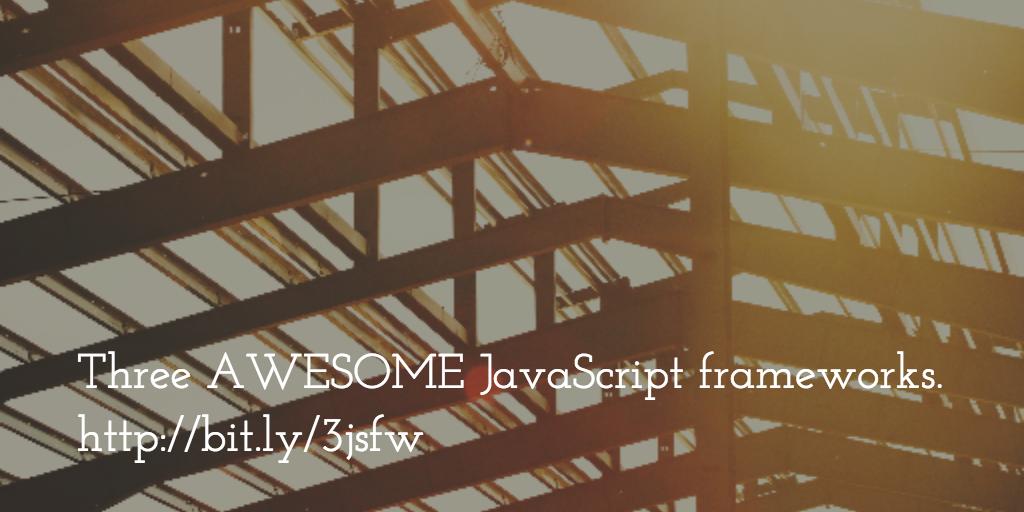 Awesome Frameworks