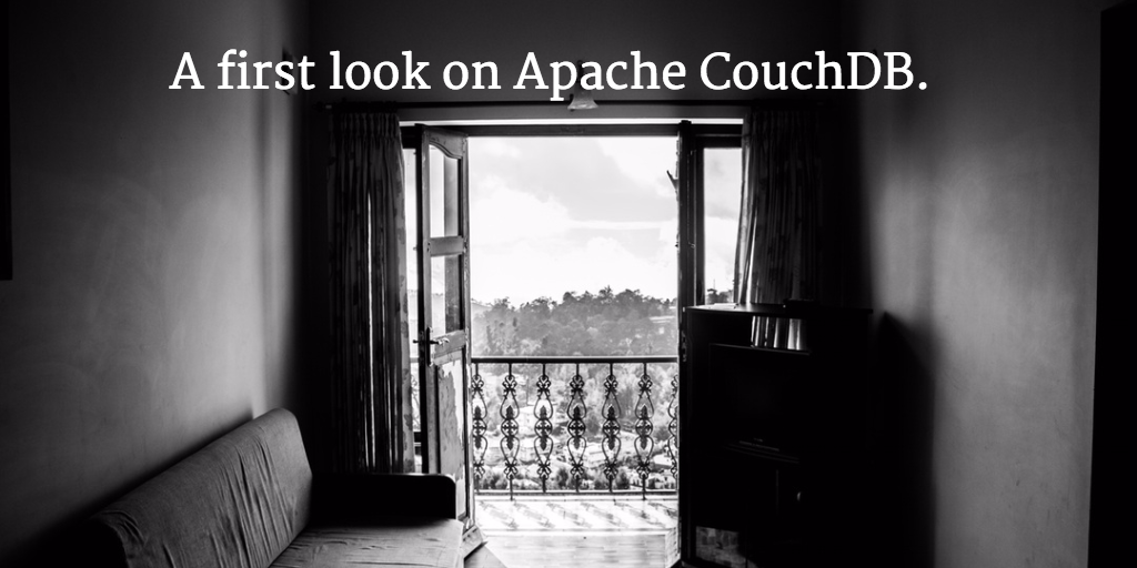 CouchDB - A first look